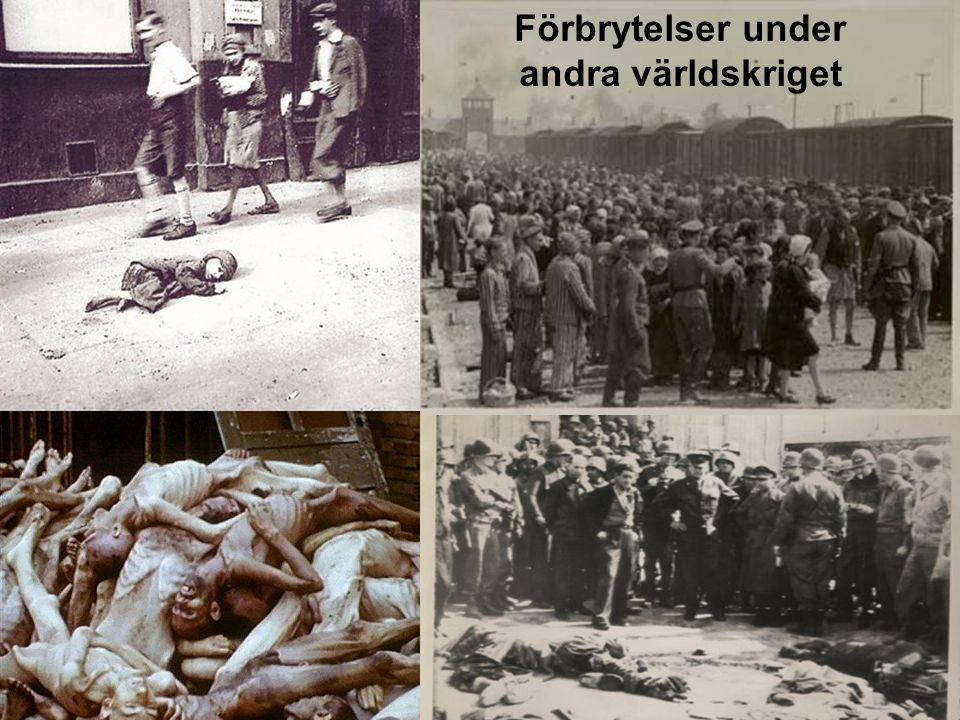 9 Förbrytelser under andra världskriget
