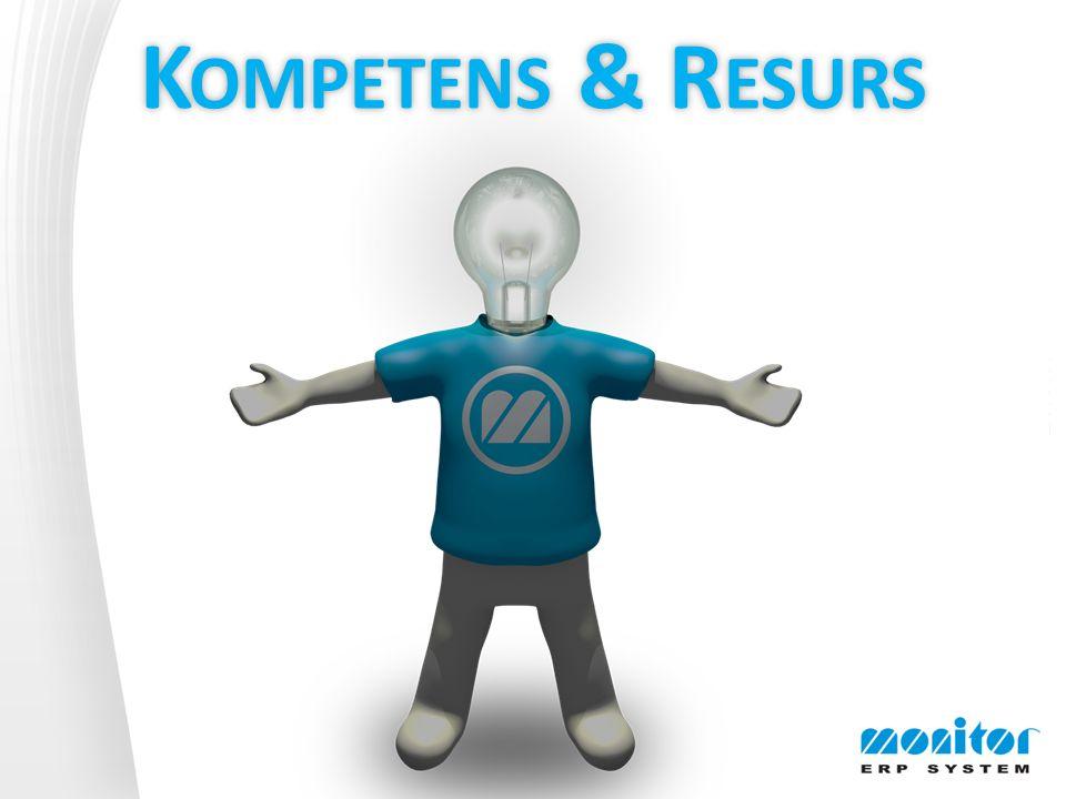 K OMPETENS & R ESURS