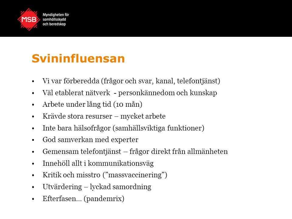 Skogsbranden Västmanland Alla aktörer har gjort egna utvärderingar – många lärdomar.
