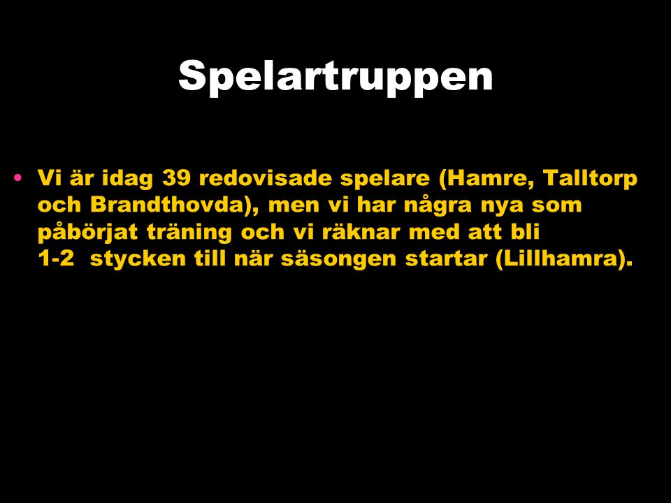 Att vara en del av Skiljebo SK Grundfilosofi Alla som vill får vara med.