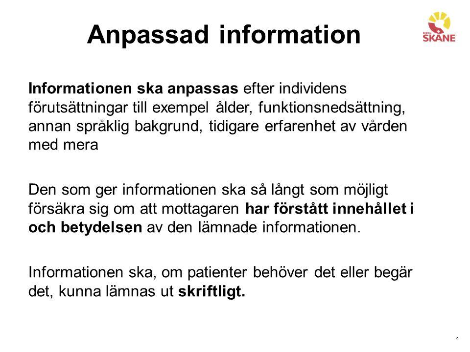 10 E-tjänster på 1177.se via Mina vårdkontakter Inloggning via e-legitimation eller lösenord krävs.