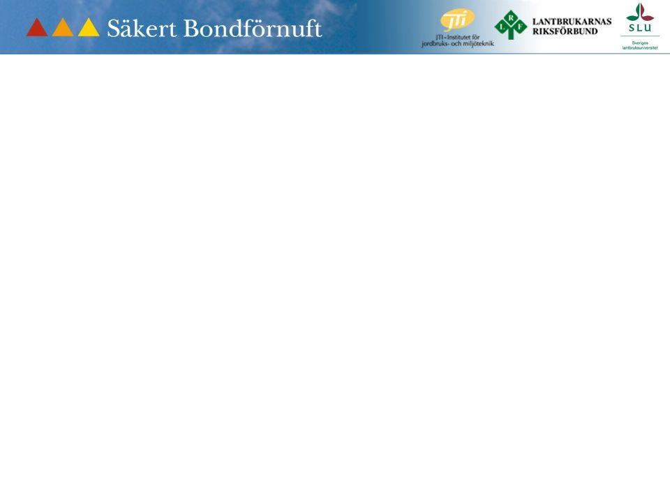 Jord- och skogsbruket är Sveriges mest olycksdrabbade bransch. Det kan vi ändra på! Yes we can 0