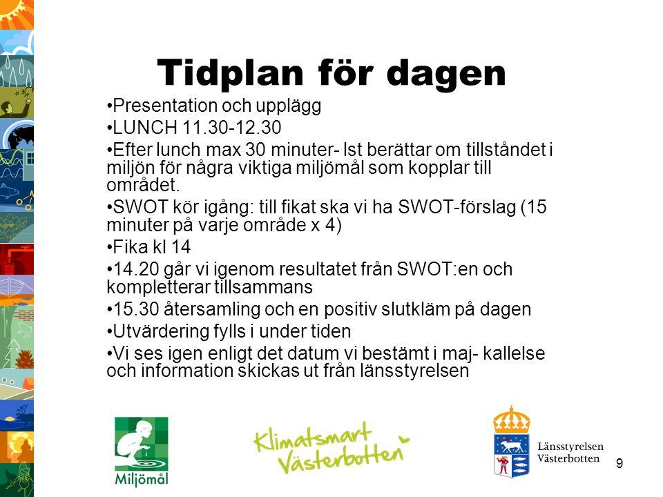 40 Trender Återvinning och sortering ökar i Västerbotten medan deponering minskar.