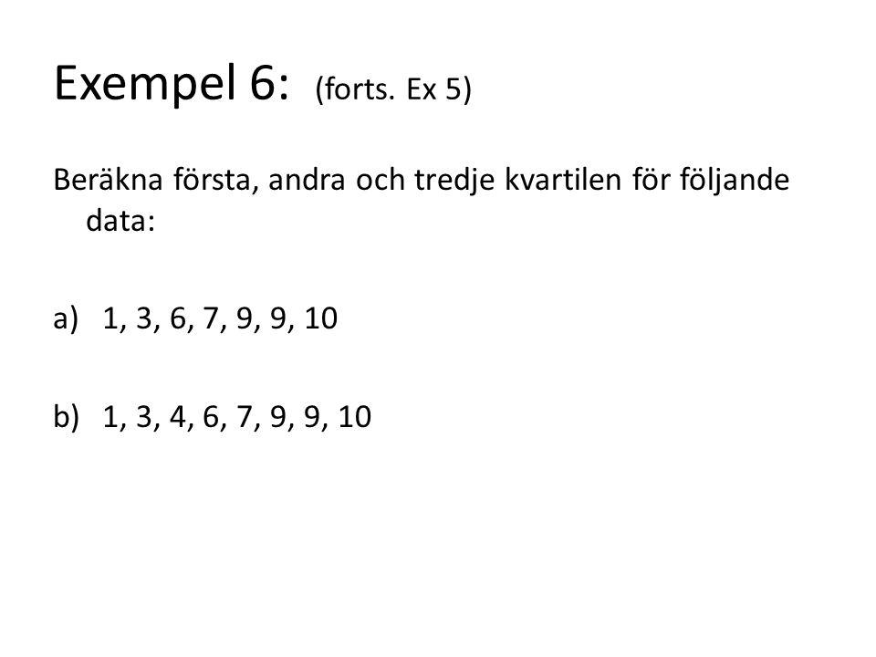 Exempel 6: (forts.