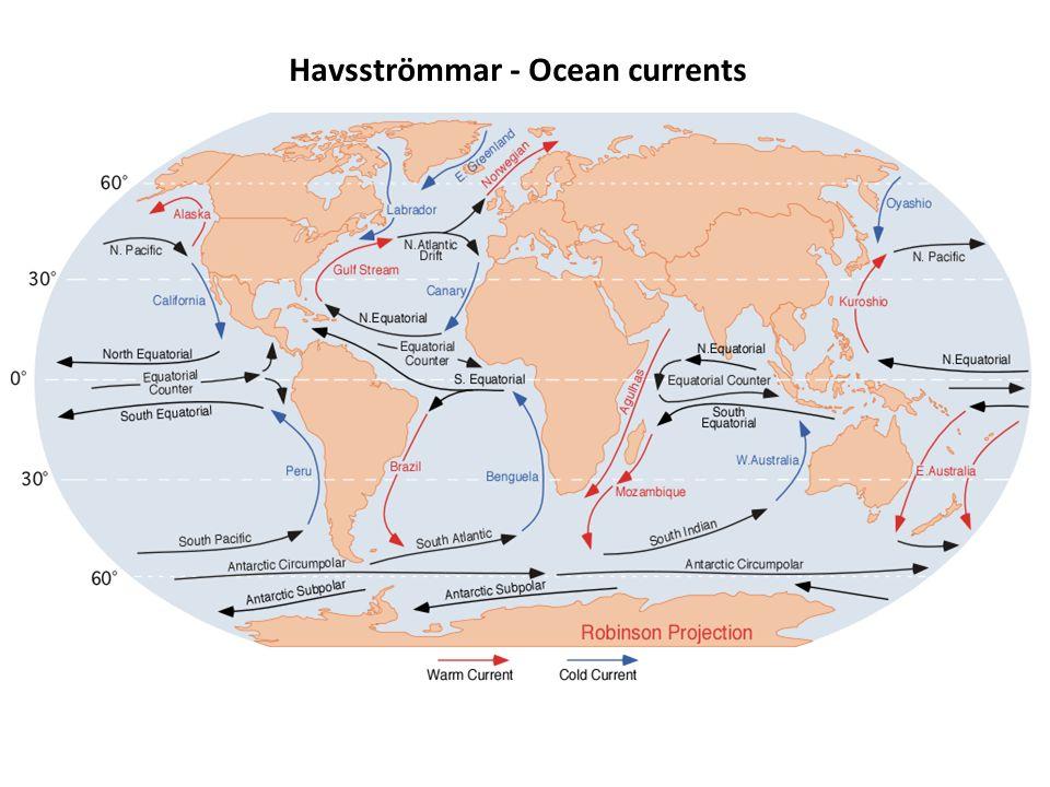 Havsströmmar - Ocean currents