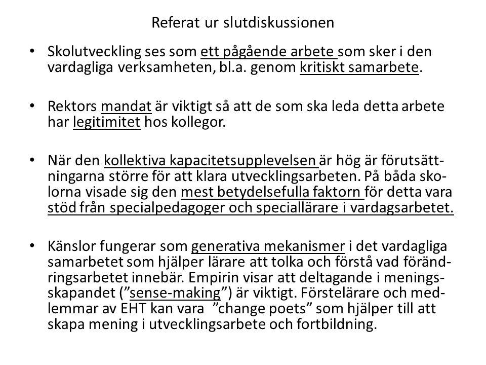 Förslag till urval (Miles & Huberman, 1994; Flyvbjerg, 2011): R EPRESENTATIVA FALL : Gör ett slumpvist urval eller ett strukturerat slumpvist urval.
