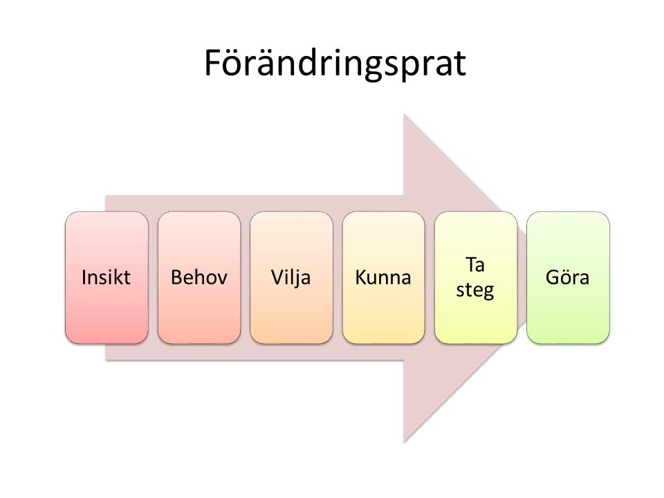 4 processer i samtalet Engaging Focus Evokate Planning