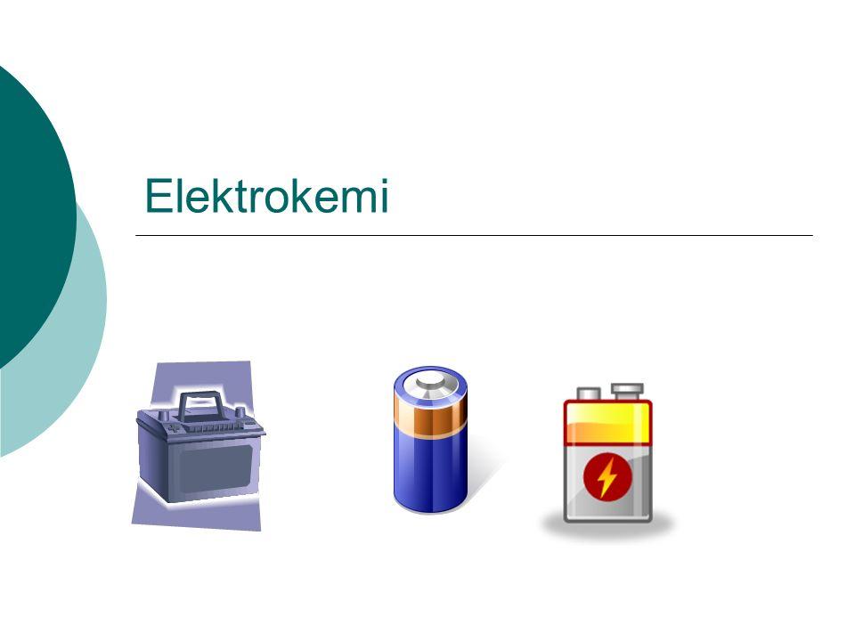 Elektrokemi