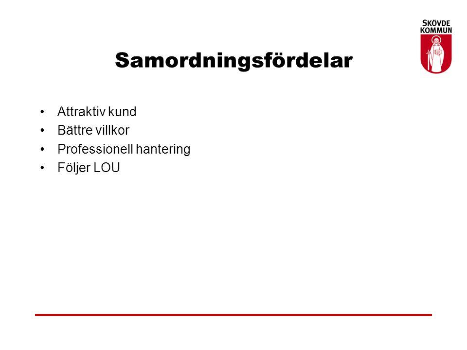 Tack för mig Hans Dahlén, upphandlingschef Skövde kommun e-post. hans.dahlen@skovde.se