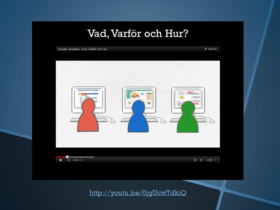 http://youtu.be/0jgUcwTdkiQ Vad, Varför och Hur