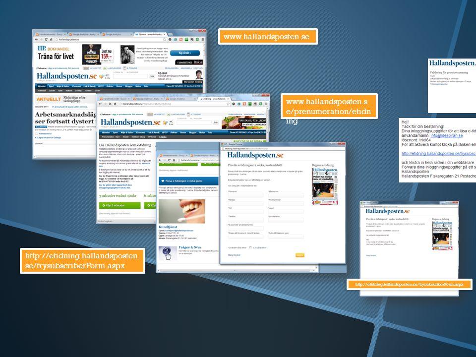 www.hallandsposten.se www.hallandsposten.s e/prenumeration/etidn ing http://etidning.hallandsposten.