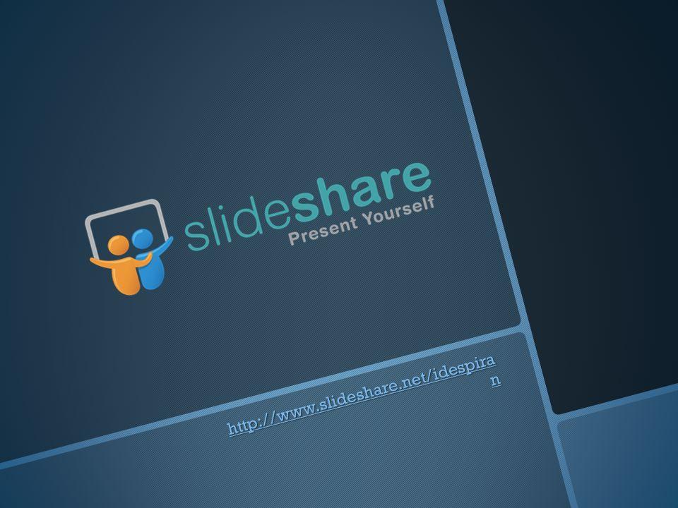 http://www.slideshare.net/idespira n