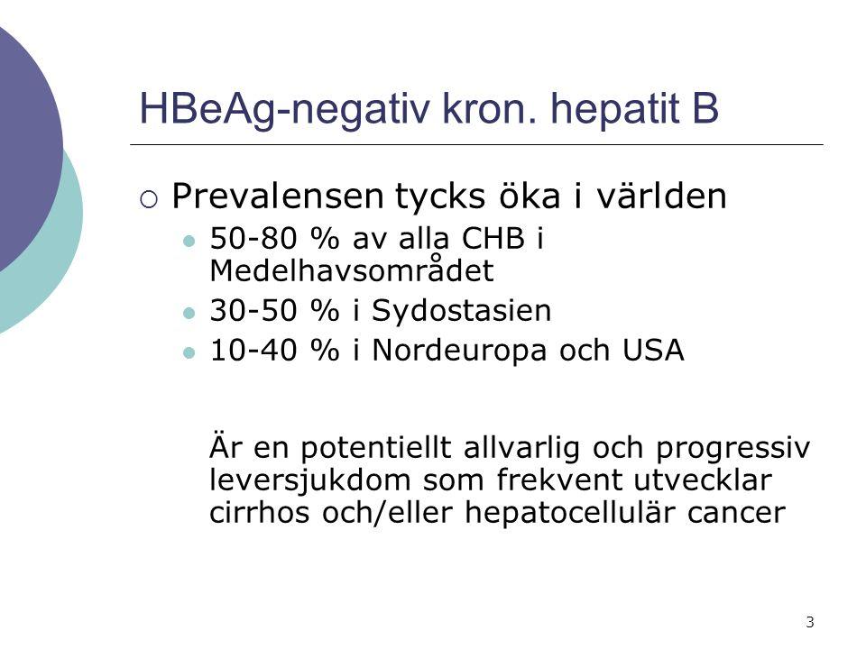 3 HBeAg-negativ kron.