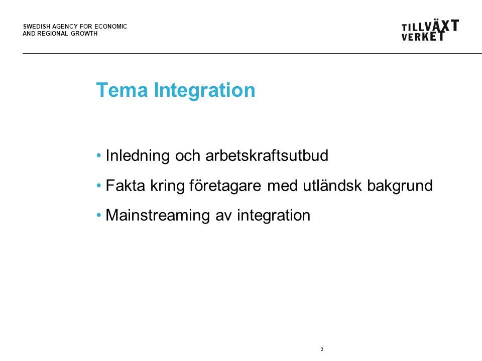 SWEDISH AGENCY FOR ECONOMIC AND REGIONAL GROWTH 4 Matchning som sker direkt (största delen är återanställningar) via kontakter, annonser, internet.