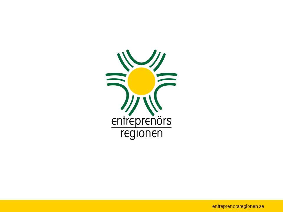 Kommunikation och marknadsföring Göra Entreprenörsregionen känd i och utanför regionen