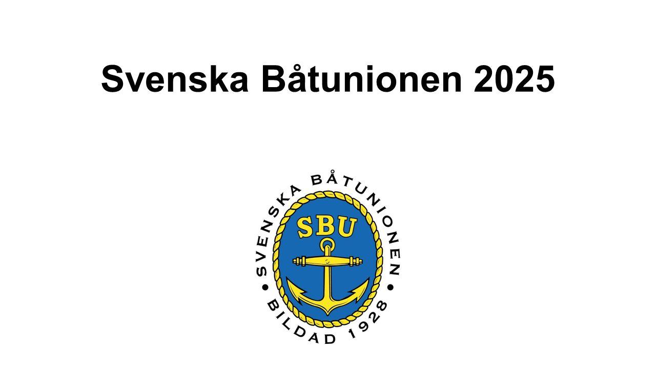 Svenska Båtunionen 2025