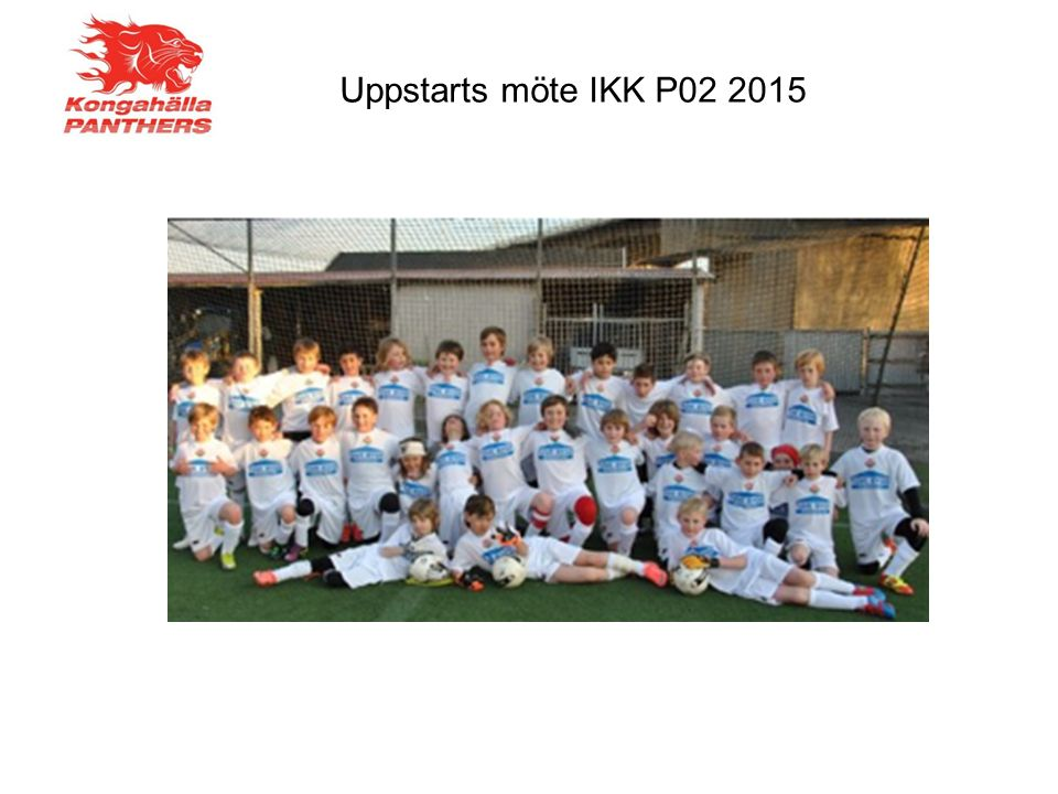Uppstarts möte IKK P02 2015
