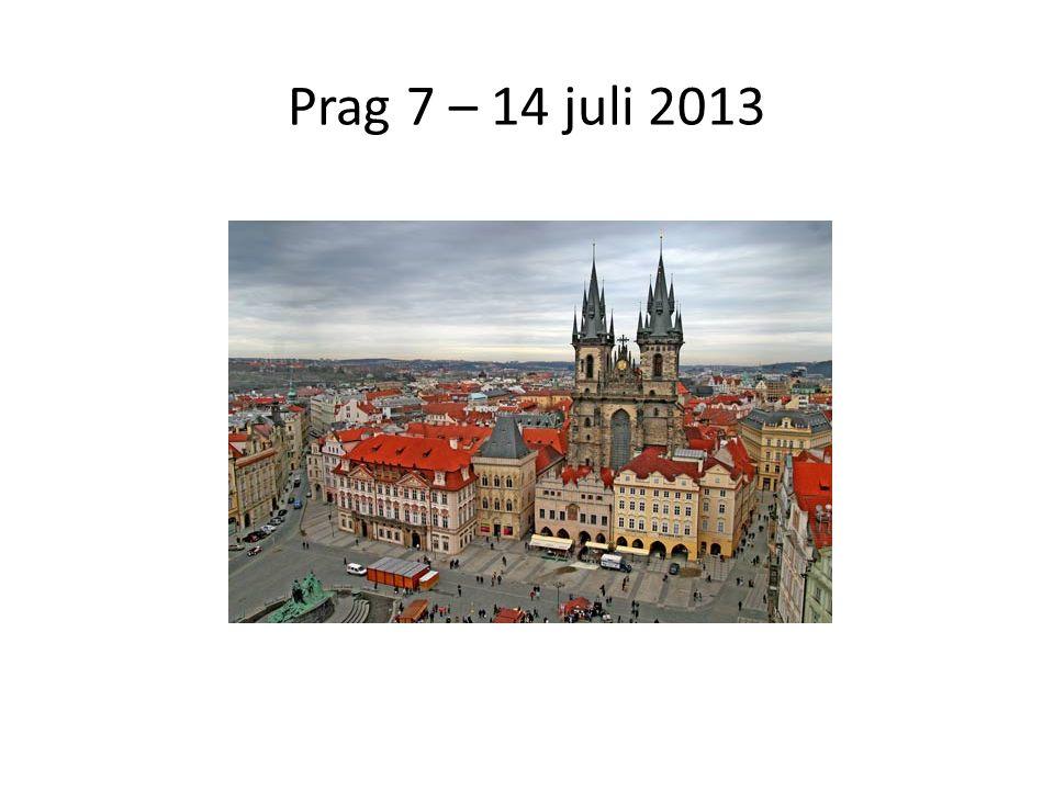 Prag 7 – 14 juli 2013