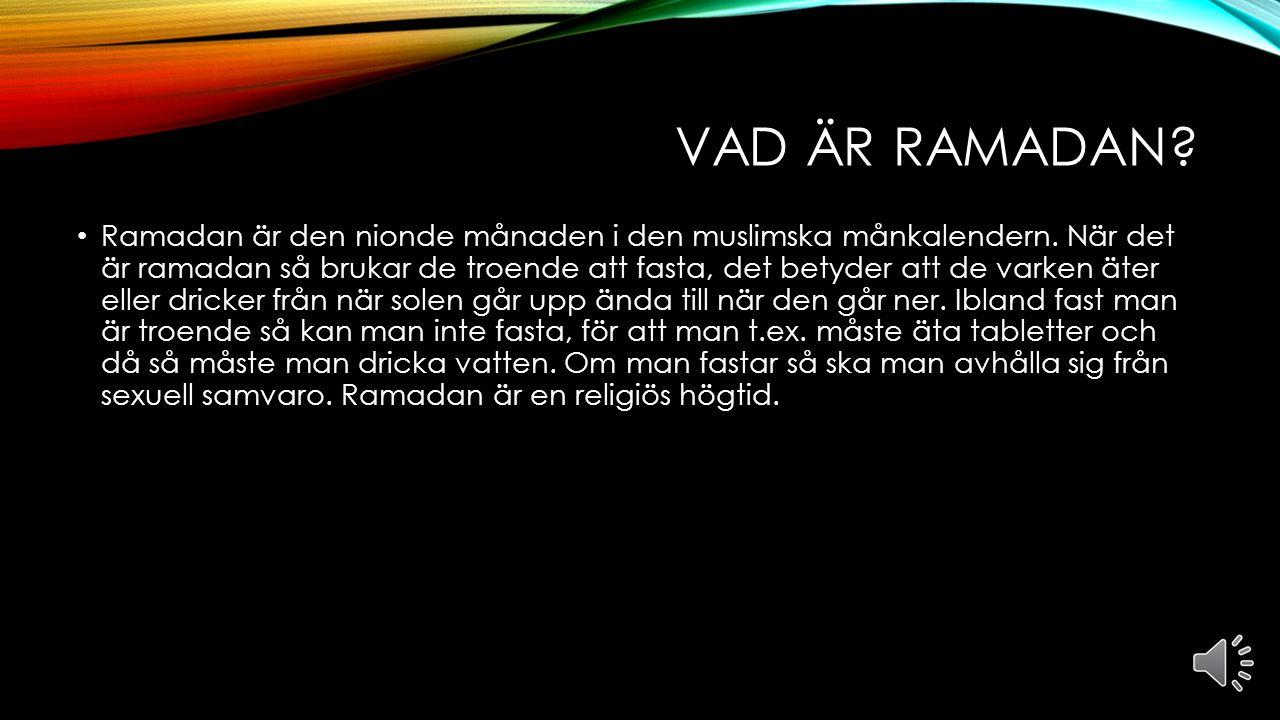 RAMADAN, ISLAM Av Almin