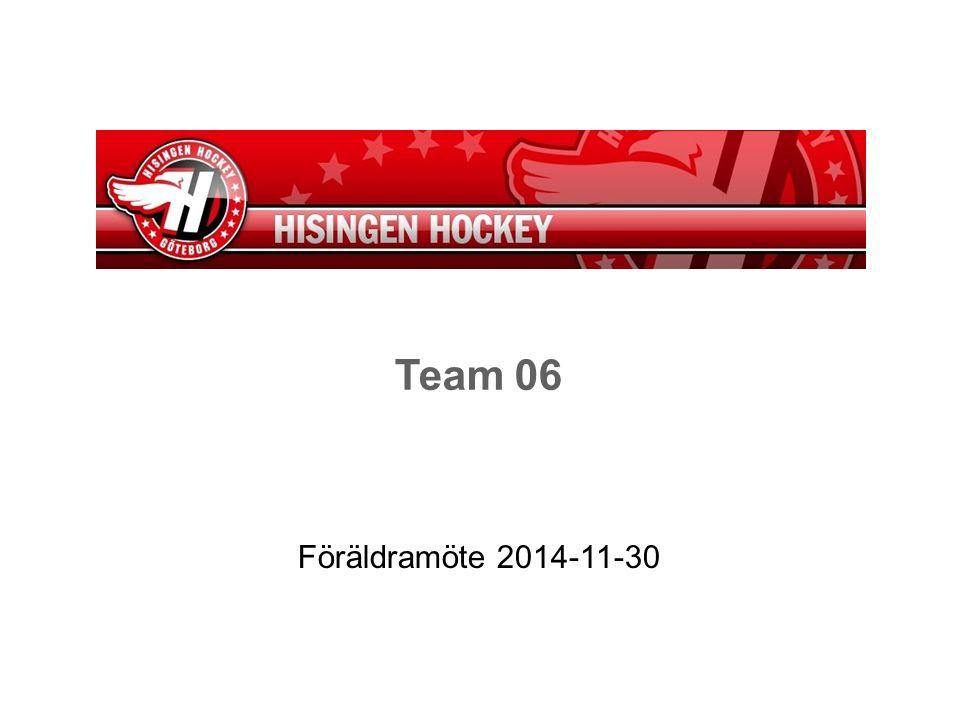 Team 06 Föräldramöte 2014-11-30
