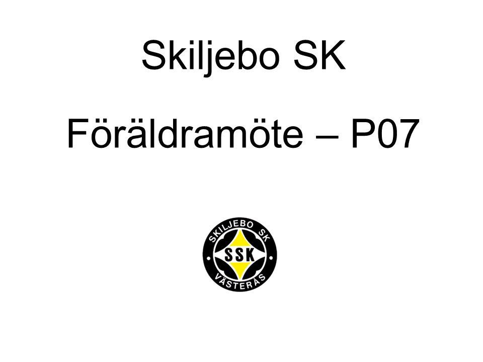 Skiljebo SK Föräldramöte – P07