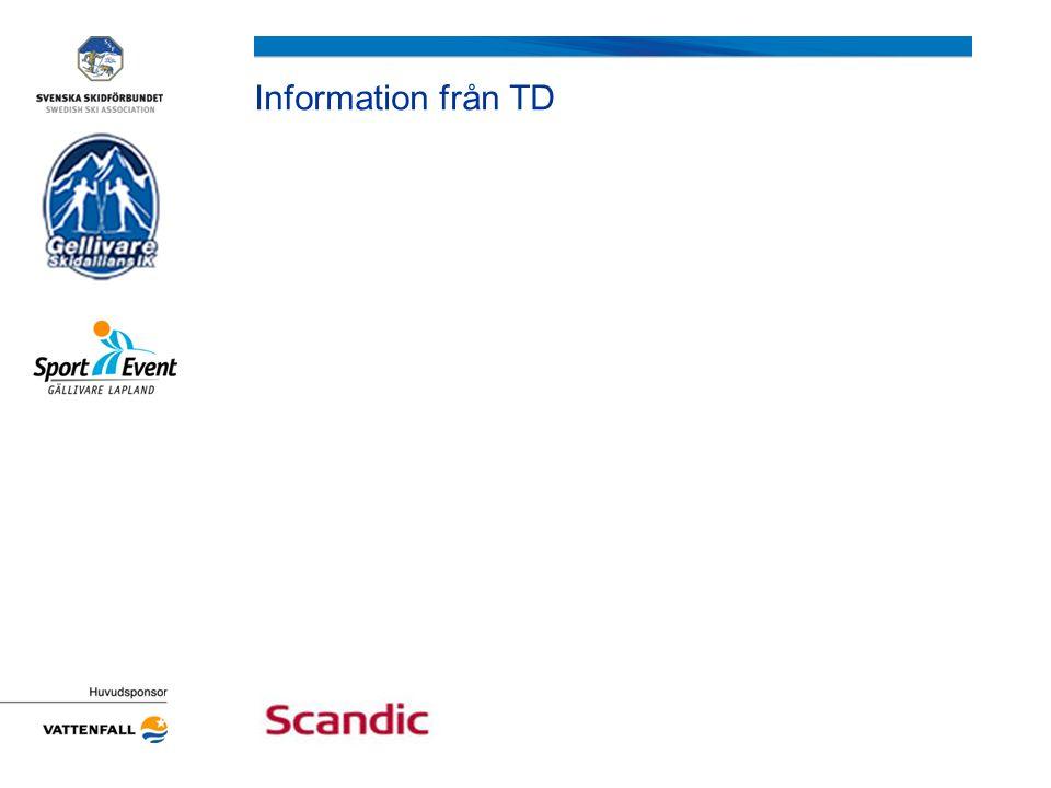Information från TD