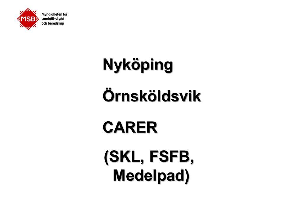 Örnsköldsvik Nyköping CARER (SKL, FSFB, Medelpad)