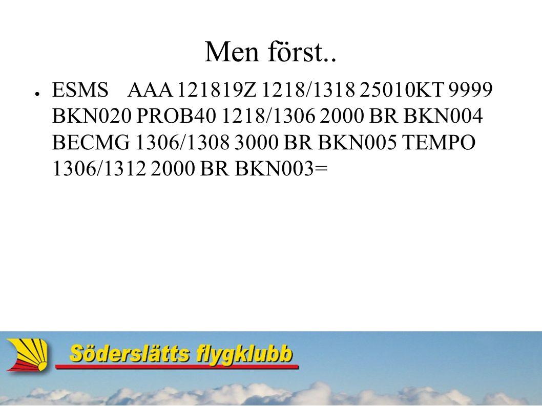 Radar ● Primärradar (PSR) ● Sekundärradar (SSR) - Transpondern!