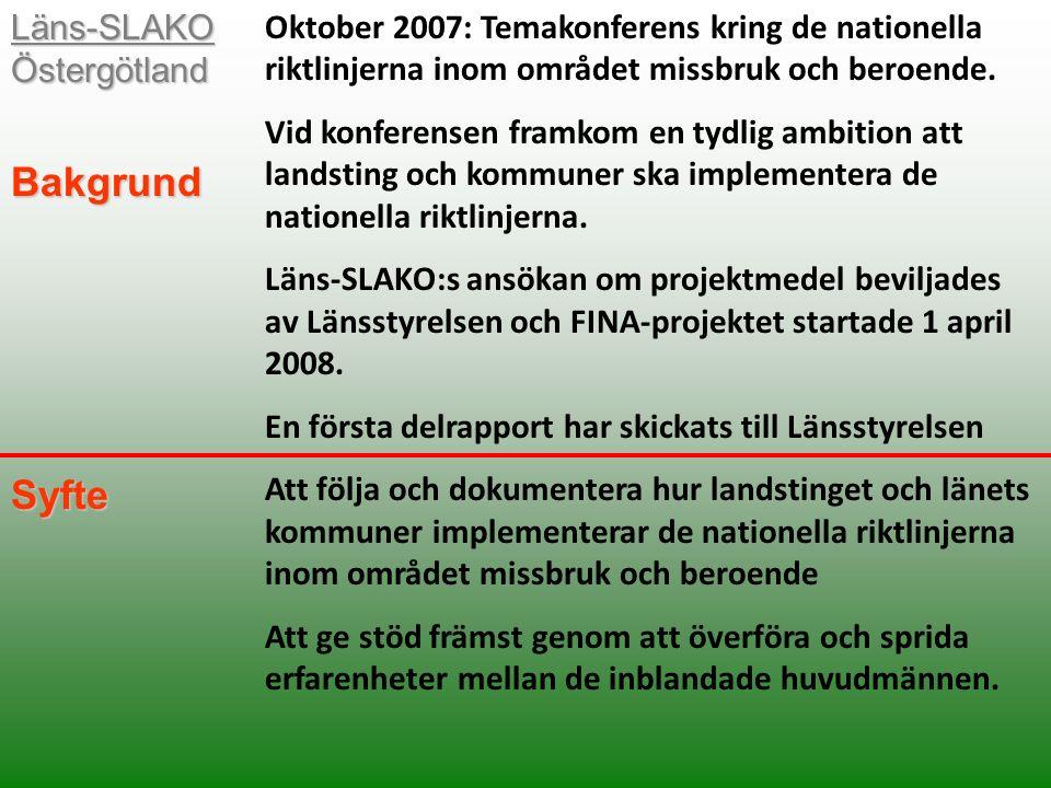 Anders Netin projektledare FINA-projektet Besöksadress: Regionförbundet Östsam Snickaregatan 40 Postadress: Box 1236, 581 12 LINKÖPING FINA-projektet