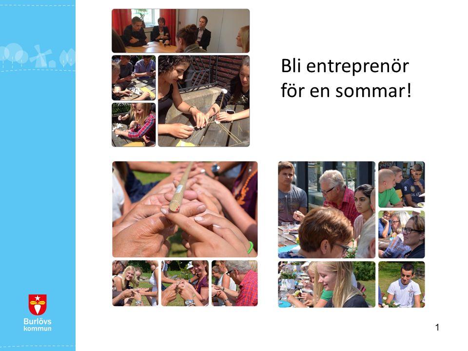 1 Bli entreprenör för en sommar!