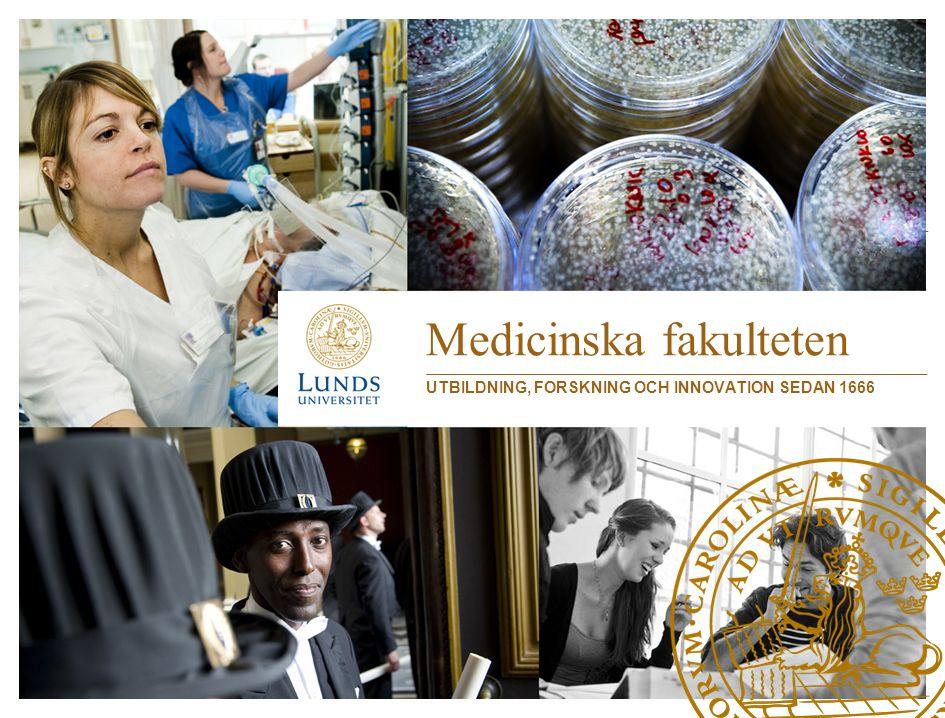 Utbildning för och i sjukvården Fakultetens utbildning av sjukvårdspersonal sker till stor del i sjukvården i hela Skåne.