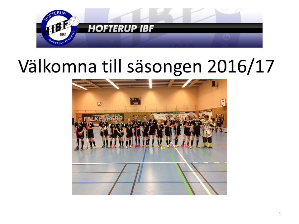 Välkomna till säsongen 2016/17 1