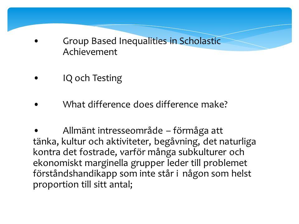Olika typer, status och kategoriseringar för minoritetsgrupper (etnicitet, medborgarskap, språk) Ingen central europeisk databas för att studera denna fråga
