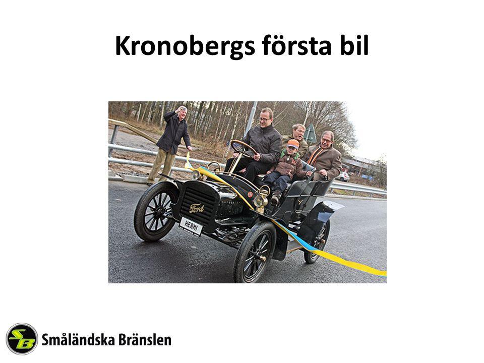 Kronobergs första bil