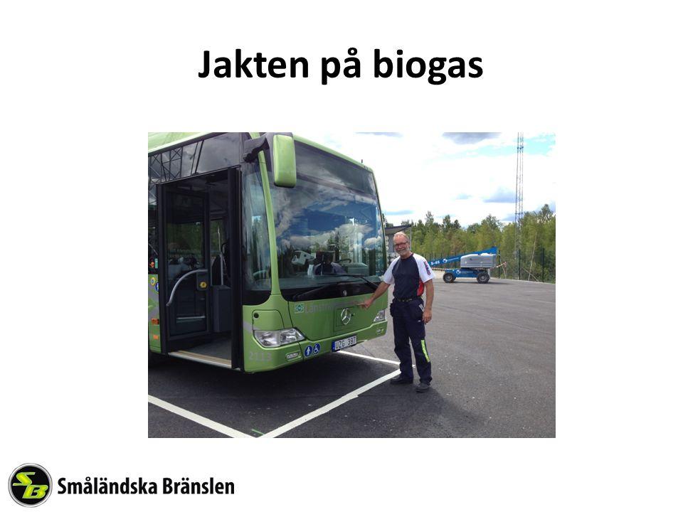 Jakten på biogas