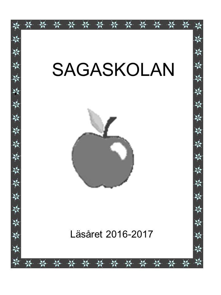 SAGASKOLAN Läsåret 2016-2017