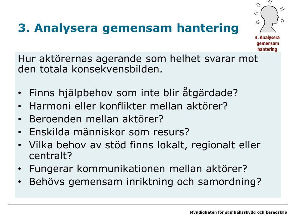 Myndigheten för samhällsskydd och beredskap 3.