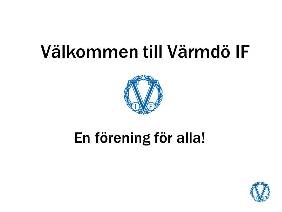 Välkommen till Värmdö IF En förening för alla!