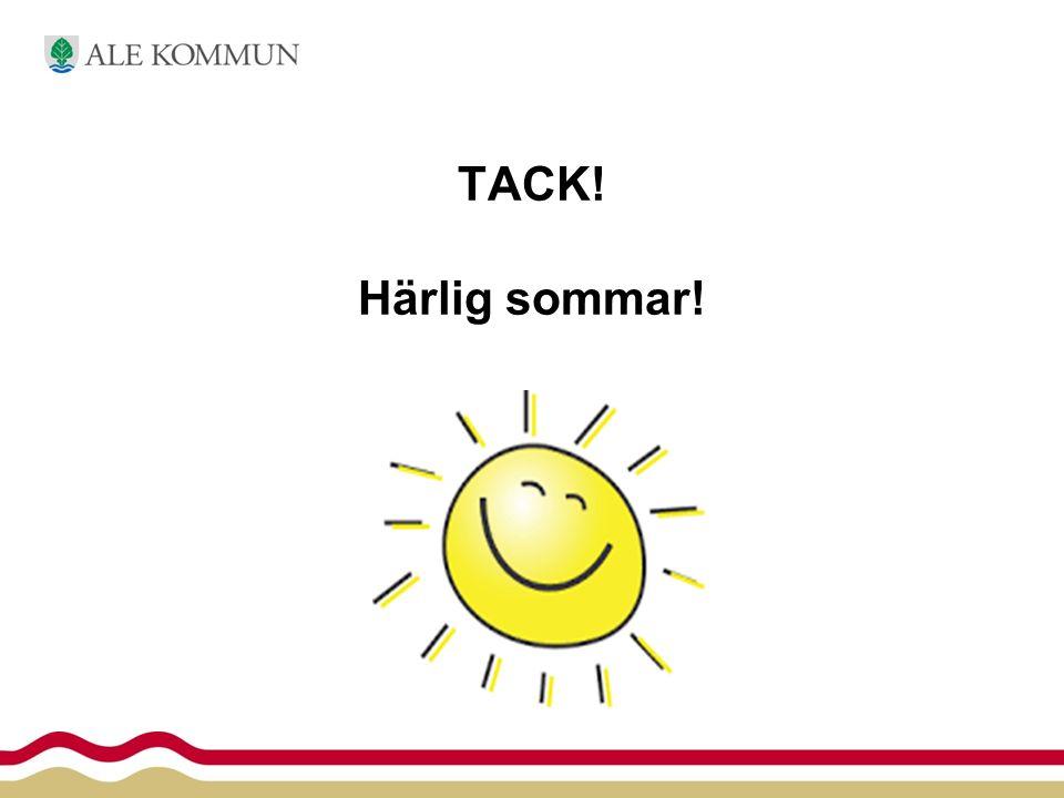TACK! Härlig sommar!