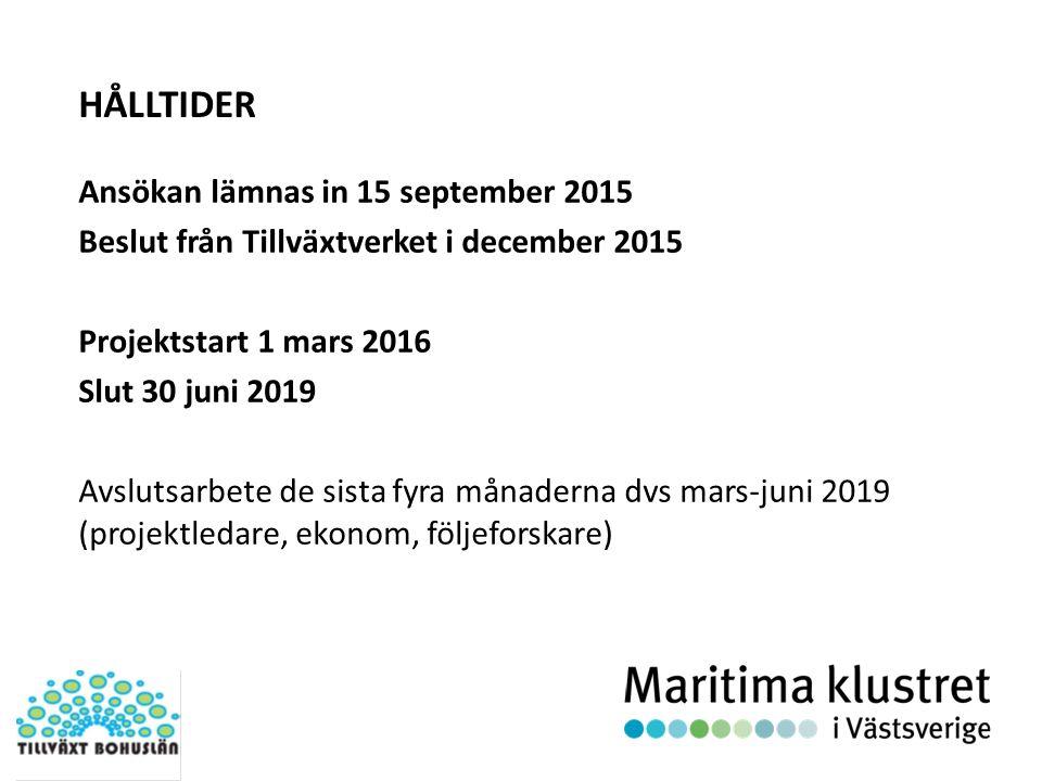 AKTIVITETER – Delmål I: Maritimt relaterade företag och forskare i regionen har kännedom om projektet och vilka möjligheter det erbjuder.