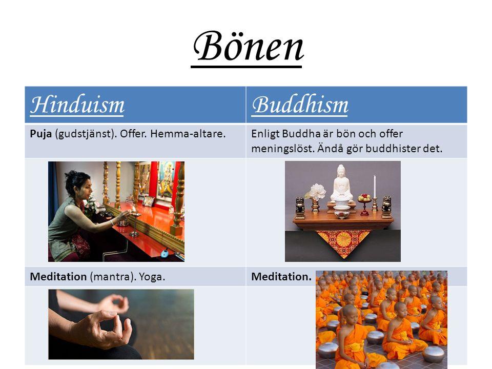 Bönen HinduismBuddhism Puja (gudstjänst). Offer.