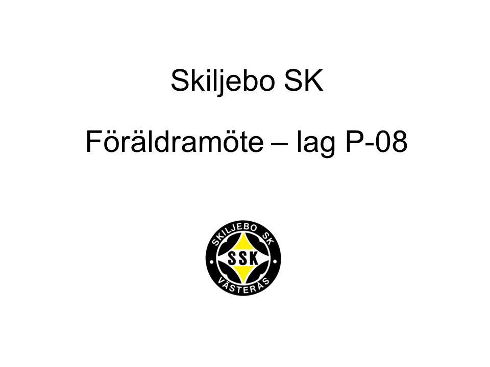 Skiljebo SK Föräldramöte – lag P-08