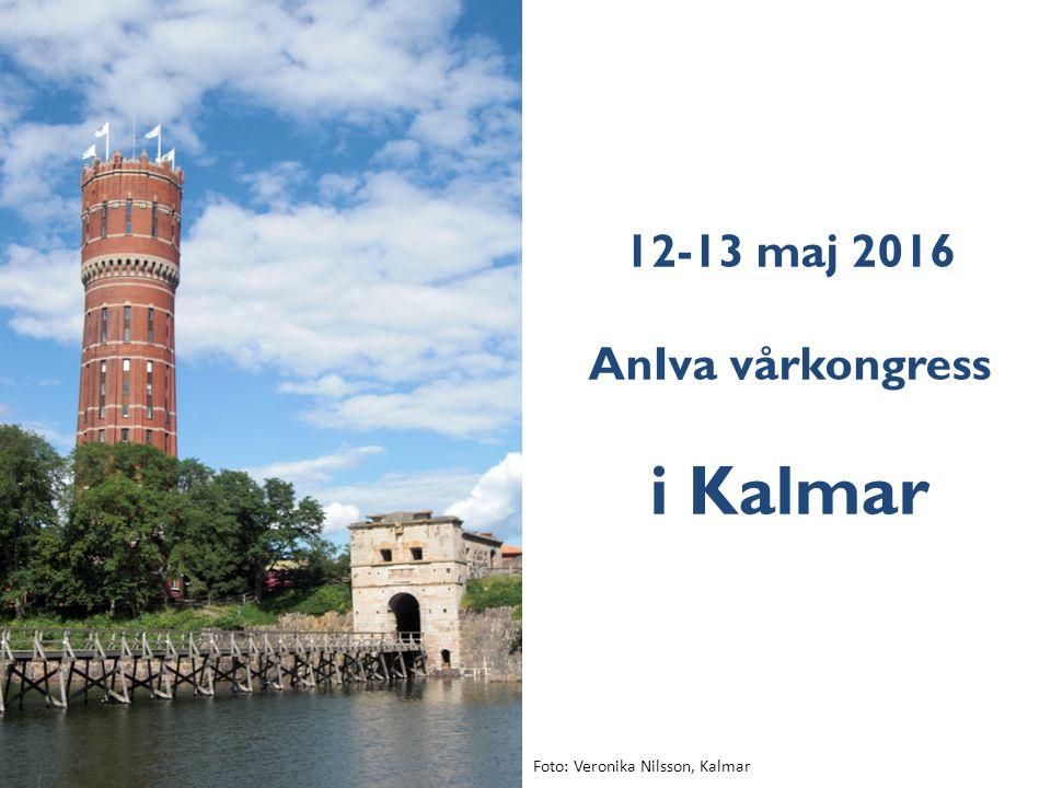 12-13 maj 2016 AnIva vårkongress i Kalmar Foto: Veronika Nilsson, Kalmar