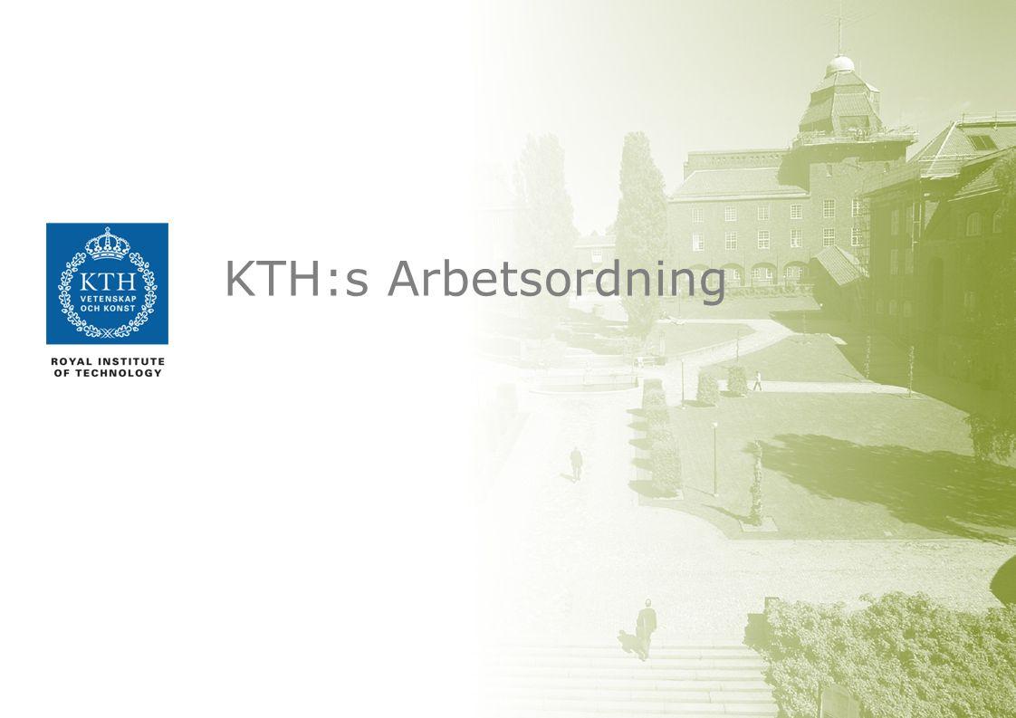 KTH:s Arbetsordning