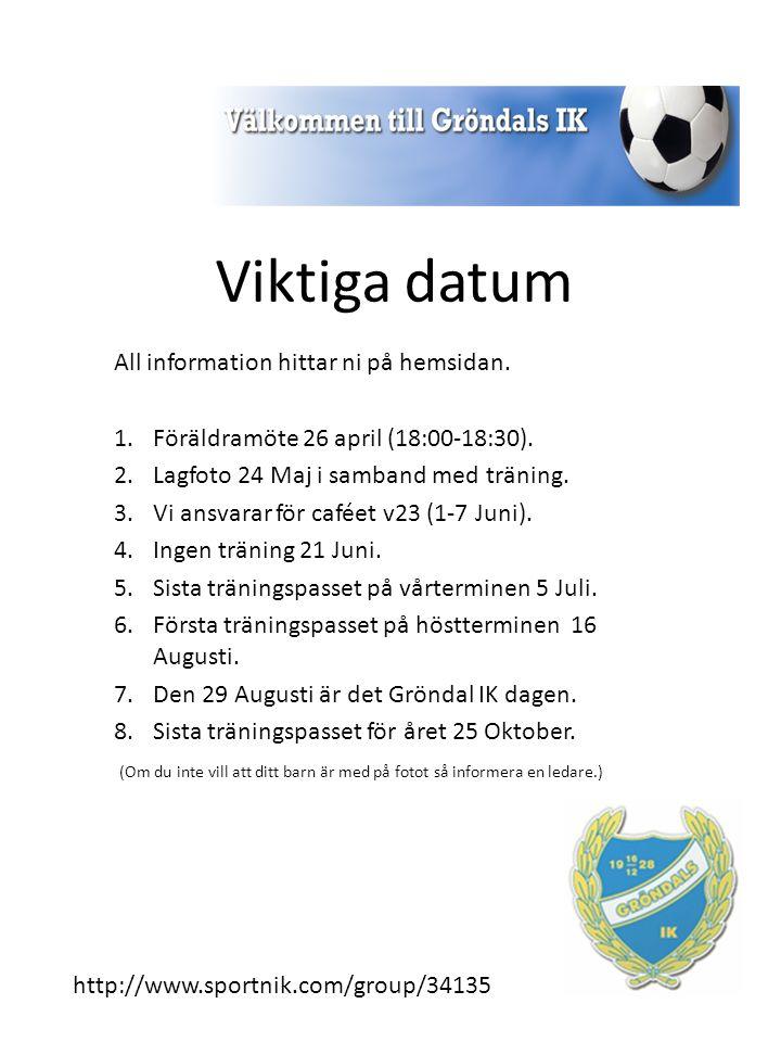 Avgifter 2015 Medlemsavgift Hela familjen: 800 kr Senior: 600 kr 0 -18 år: 500 kr Ej aktiv: 300 kr Fotbollsskolan - Vid betald medlemsavgift får barnet träningströja.