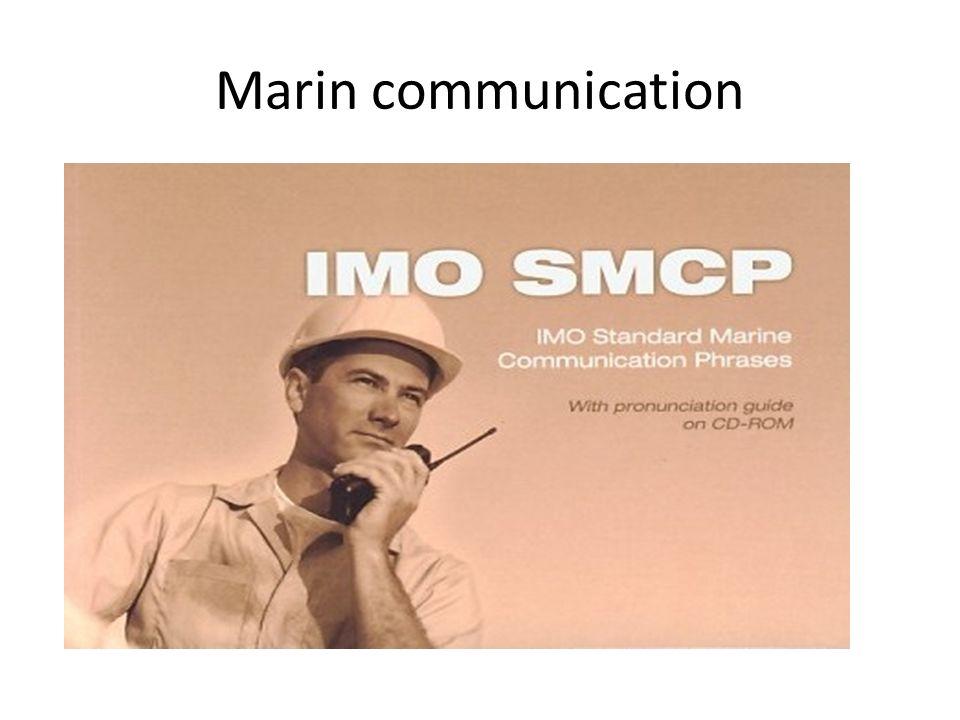 Marin communication