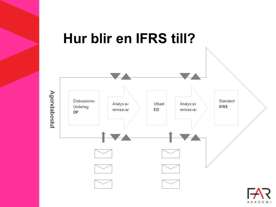 Hur blir en IFRS till.