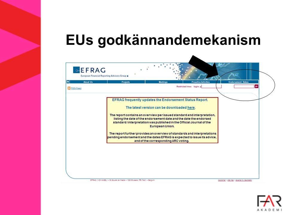 EUs godkännandemekanism