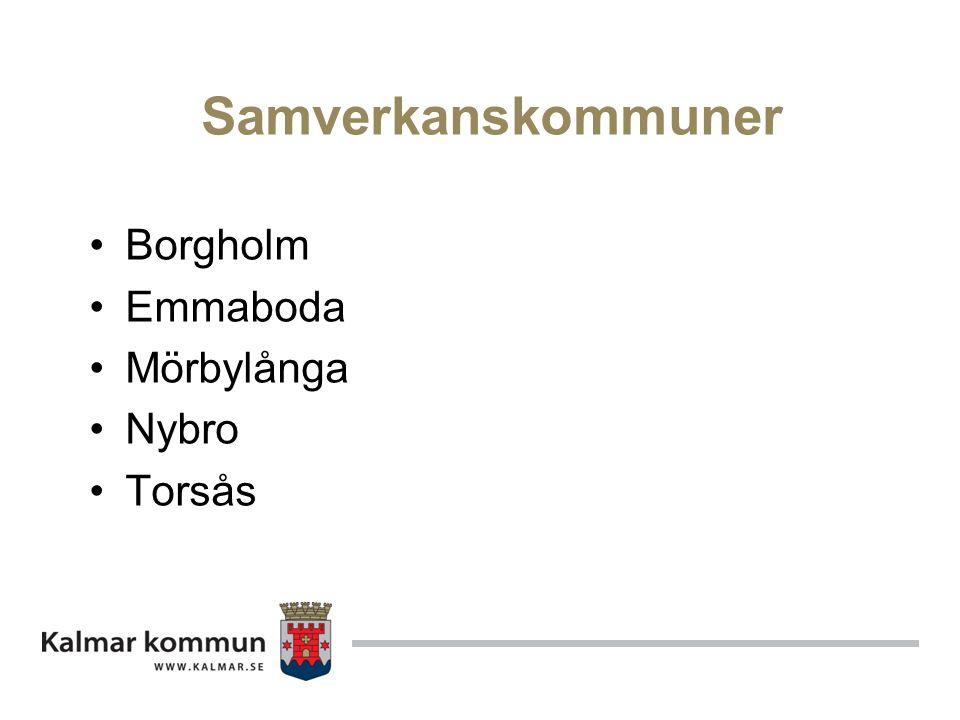 Samverkanskommuner Borgholm Emmaboda Mörbylånga Nybro Torsås