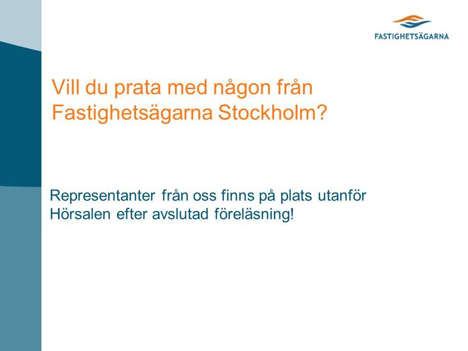 Vill du prata med någon från Fastighetsägarna Stockholm.